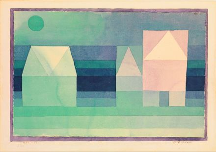 Klee, Paul: Three Houses. Fine Art Print/Poster (5019)